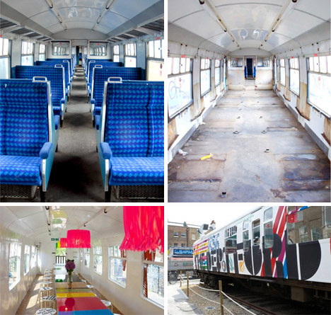 deptford project reconversión vagón