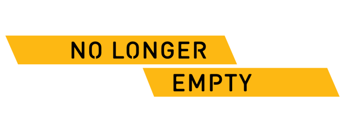 NO LONGER EMPTY NEW YORK LOGO